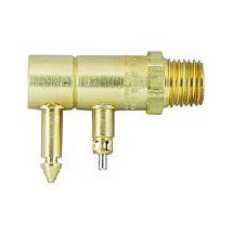 "tank connector 1/4"" npt for johnson evinrude"