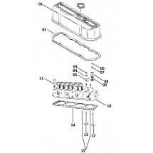descriptif pièces internes pour moteurs GM 4 cylindres