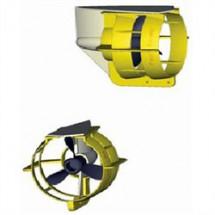 protection d'hélice jaune 9.9/20cv