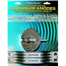 kit anodes alu yamaha 150 / 200 cv contre rotation