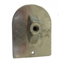 anode plaque pour mercury mariner de 20cv