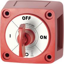coupe batteries à clé pour hors bords et petits inboard
