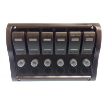 tableau électrique 6 positions 110 x 190mm
