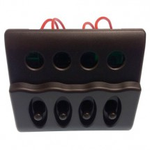 tableau électrique 4 positions 98 X 98