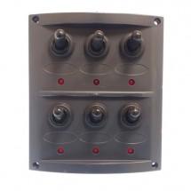 tableau électrique 6 positions 110 X 125