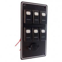 tableau électrique 6 positions + allume cigare