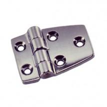 chaarnière inox 75 x 62 mm