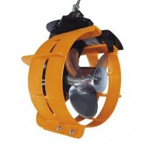 protection d'hélice rouge 70/100cv