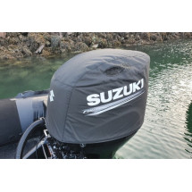 copy of housse moteur pour suzuki DF100 / 115 / 140A - noire
