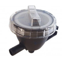 "raw water strainer 300l / hour tube 1 1/2"" (38mm)"
