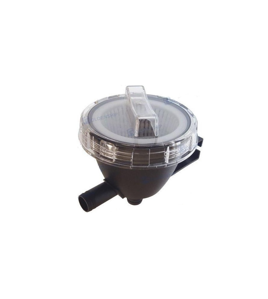 """raw water strainer 300l / hour tube 1 1/2"""" (38mm)"""